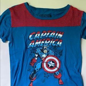 Collectors Marvel Captain America T-shirt
